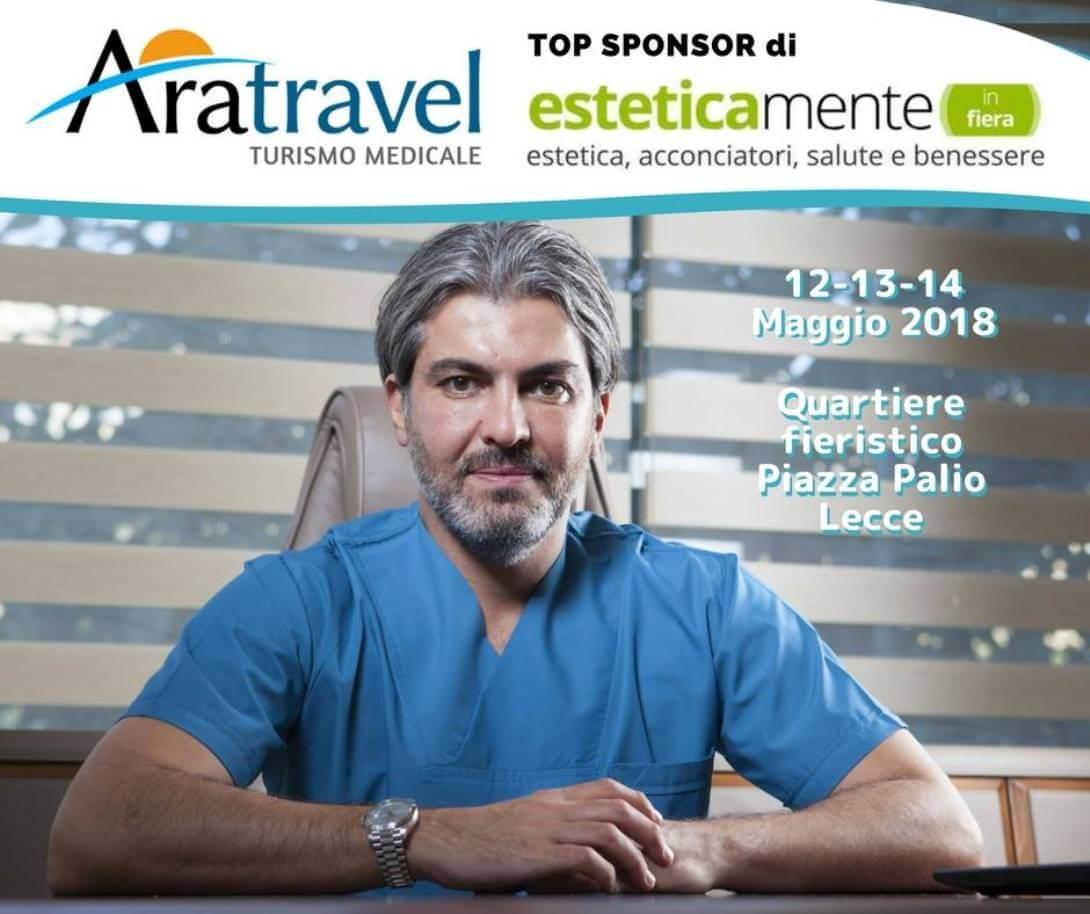 Aratravel top sponsor di Esteticamente in Fiera